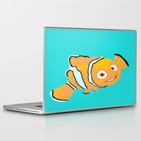 nemo Laptop & iPad Skins featuring Nemo by Roythehuman