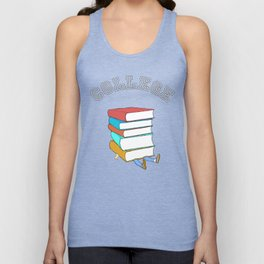 College Textbooks and Student Loans Unisex Tank Top