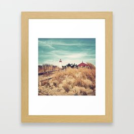 Beacons of Light Framed Art Print