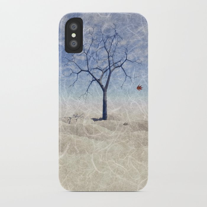 When the last leaf falls iPhone Case
