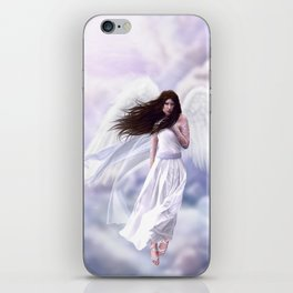 Some Clouds Have Wings iPhone Skin
