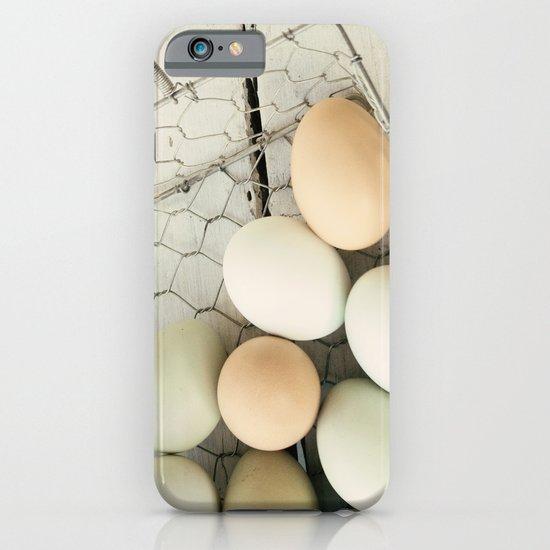 Eggs in one basket iPhone & iPod Case