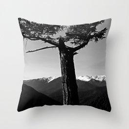 hurricane ridge . ii Throw Pillow