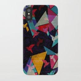 Origami Flight iPhone Case