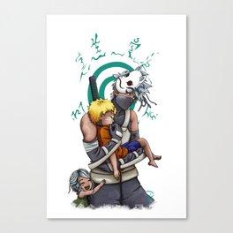 Taking Naruto Home <3 Canvas Print