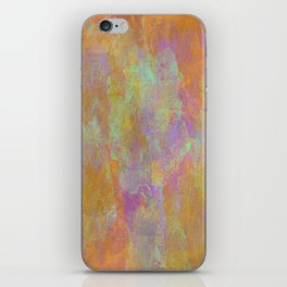Abstract in Earths and Purple iPhone Skin