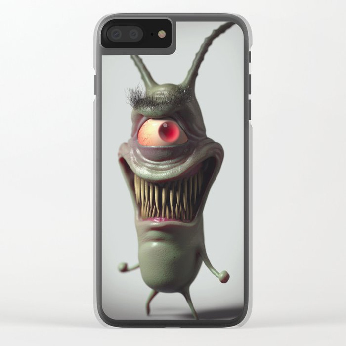 Plankton Clear iPhone Case