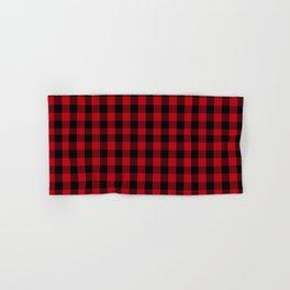 Buffalo Plaid Pattern Hand & Bath Towel