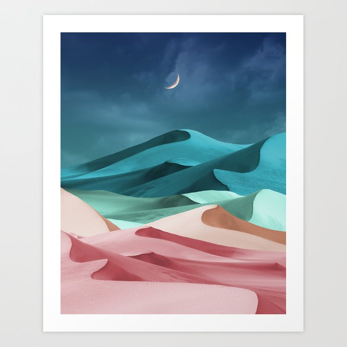 Blushing Pistachio Art Print