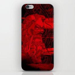 City of Dragon iPhone Skin