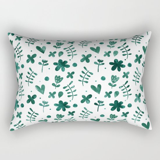 Colorful Lovely Pattern VII Rectangular Pillow