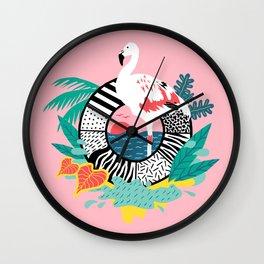 Flaming-oOO Wall Clock