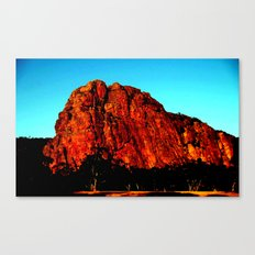 The red Rock Canvas Print