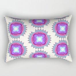 29 E=Flowere Rectangular Pillow
