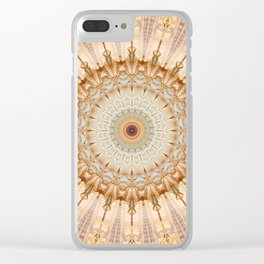 Mandala Castel Sant' Angelo Clear iPhone Case