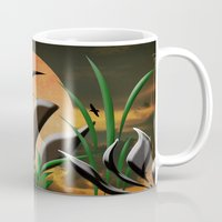 twilight Mugs featuring Twilight by Judith Lee Folde Photography & Art