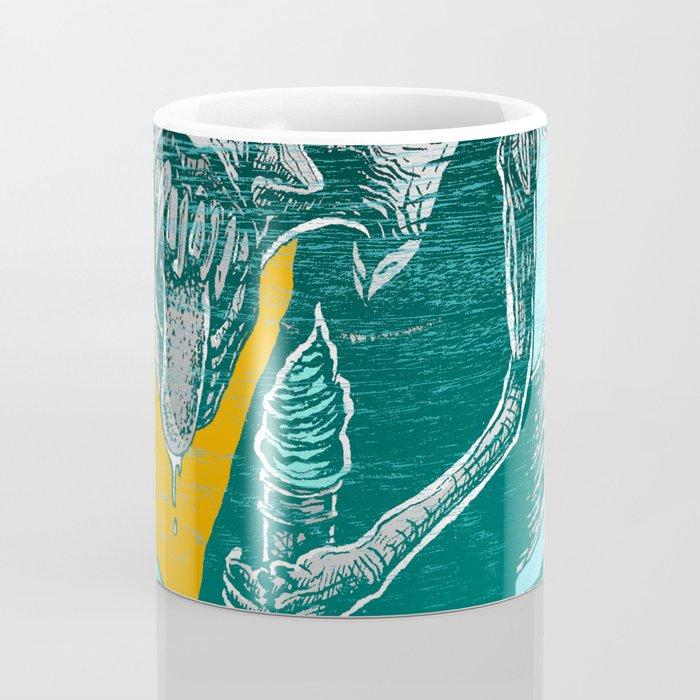 Fresh Blue Ice Cream Coffee Mug