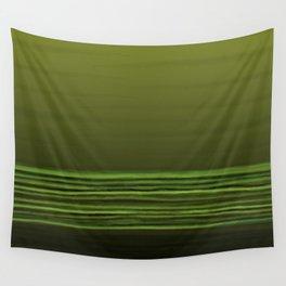 Horizon (olive green) Wall Tapestry