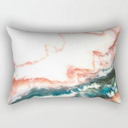 Balos Abstract Painting Rectangular Pillow
