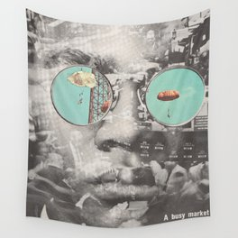Cooler Heads Prevail Wall Tapestry