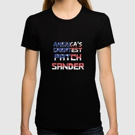 America's Greatest Patch Sander T-shirt