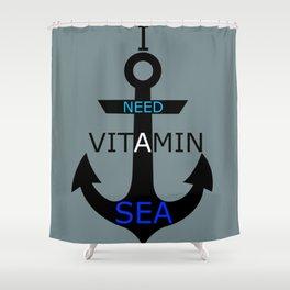 Vitamin Sea Shower Curtain