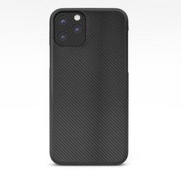 Realistic Carbon fibre structure iPhone Case