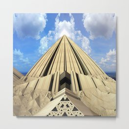 Pyramid of the Daylight Metal Print