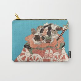 Warrior with Sword - Actor Portrait Vintage Japanese Art Carry-All Pouch