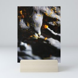 Lava tube cave Mini Art Print