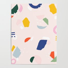 Not Your Grandmother's Terrazzo Poster
