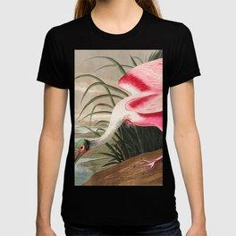 Tropical Exotic Fantasy Bird Landscape T-shirt