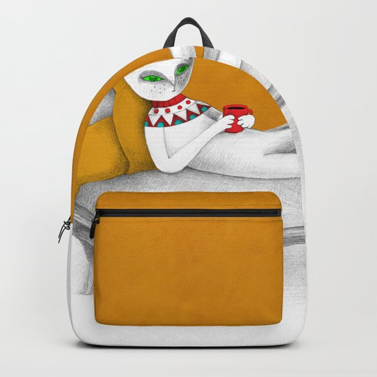 starting with a coffeebreak Backpack