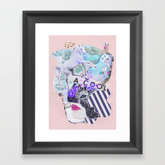 MAGIC WONDERLAND Framed Art Print