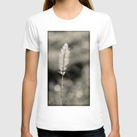silver T-shirts featuring silver by Bonnie Jakobsen-Martin