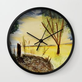 Summer 2017 Wall Clock