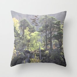 A Dream Pang Throw Pillow