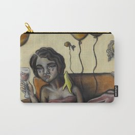 Pity party by Lilly Hibbs Carry-All Pouch
