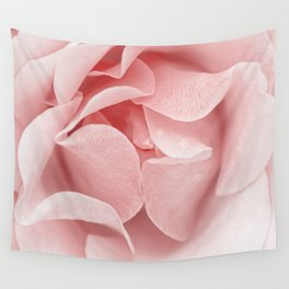 Pink flora Rose Bud- Roses and flowers Wall Tapestry
