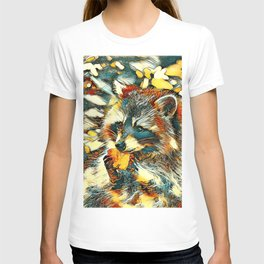 AnimalArt_Raccoon_20170601_by_JAMColorsSpecial T-shirt