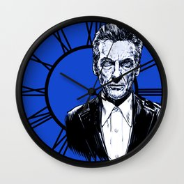 The Twelfth Doctor - Peter Capaldi Wall Clock