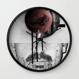 Occupy Your Mind Wall Clock