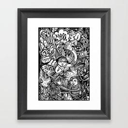 Sketchbook_19 Framed Art Print