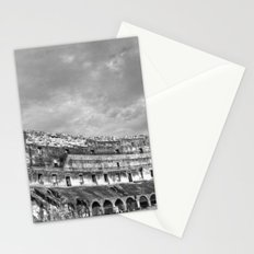 Inside of the Colosseum Stationery Cards