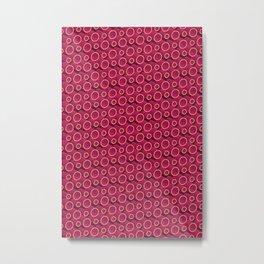 3D Lovely Pattern X 2 Metal Print
