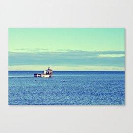 The Fisherman's Journey Canvas Print