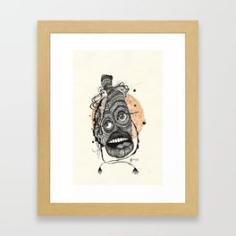 23. Monster Framed Art Print