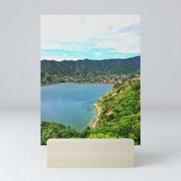 Taganga Bay Mini Art Print