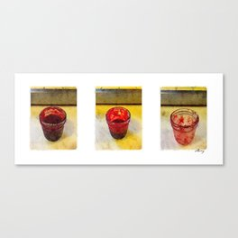 3 Raspberry Jams Canvas Print