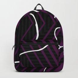 Lined - arrow Backpack